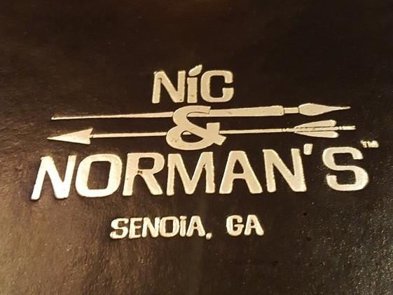Nic & Norman's Signage