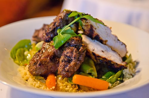 Lemon Chicken and Cous Cous
