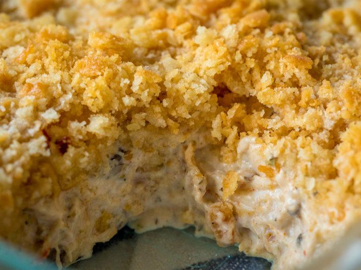 creamy ritz cracker chicken casserole