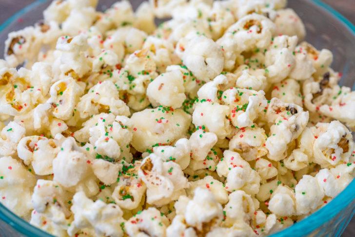 glazed sugar cookie popcorn
