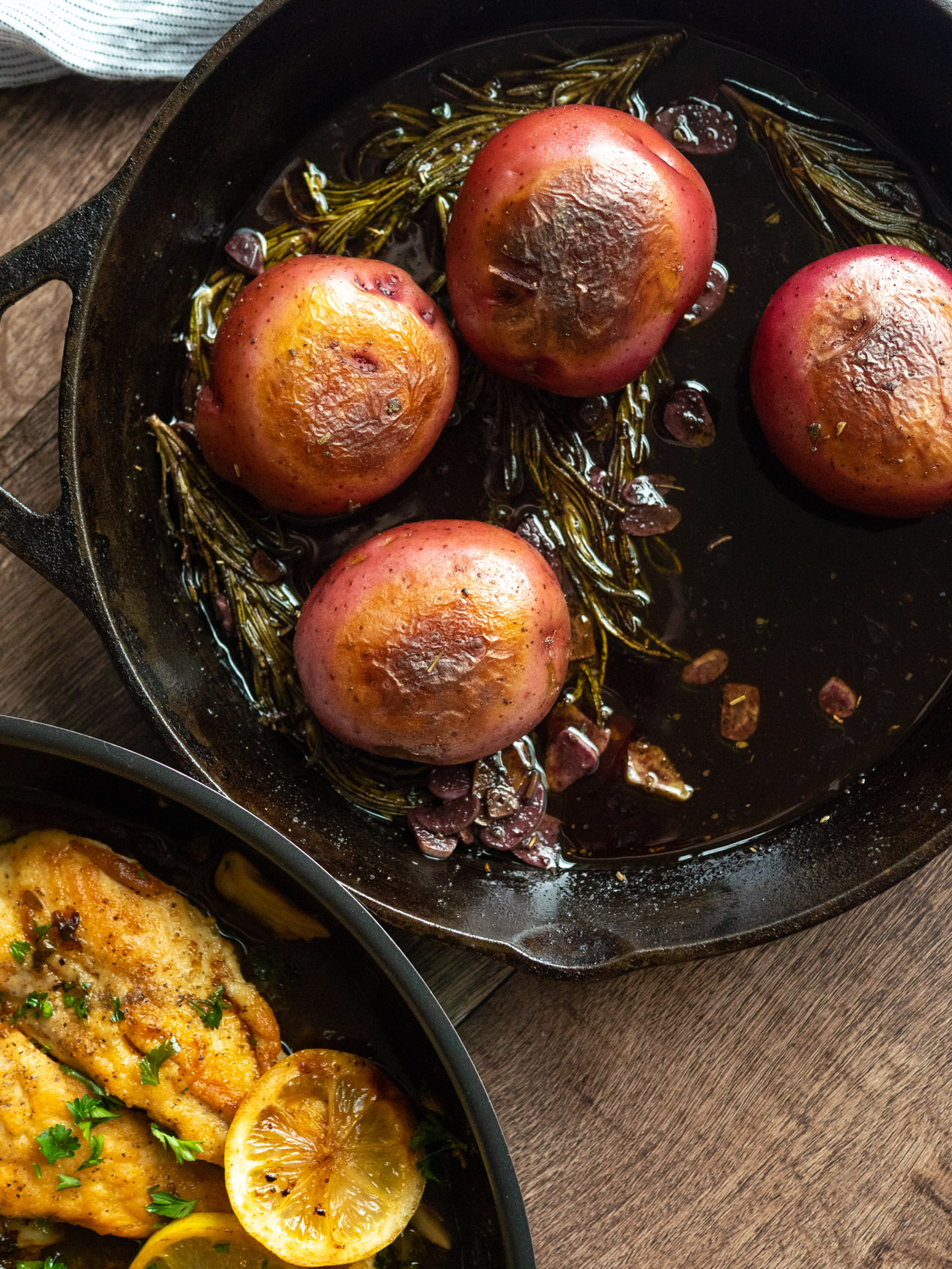 Red Wine Potatoes