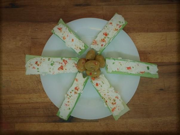 pimento celery sticks