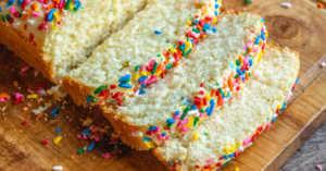2-ingredient ice cream bread