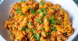 30-minute sloppy joe casserole