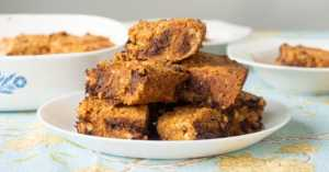 gold rush brownies