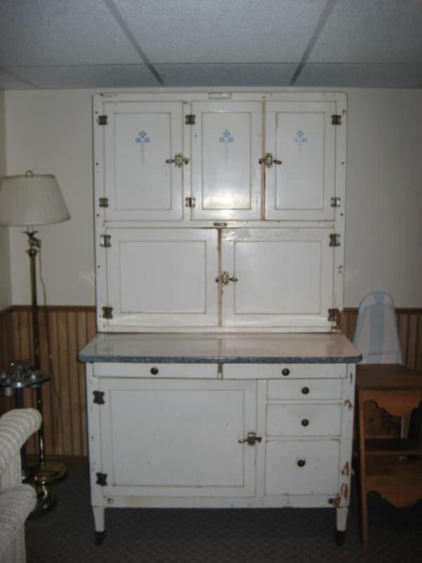 Hoosier identification sellers cabinet Show us