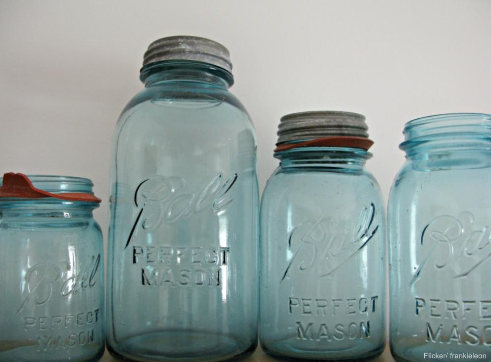 Redbook price guide mason jars