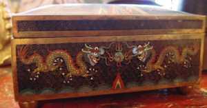 19th Century Cloisonné Box