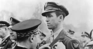 Jimmy Stewart Receiving French Medal