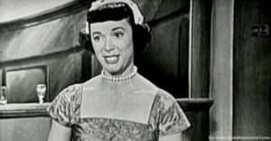 Giselle Mackenzie on the Colgate Comedy Hour