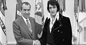 President Nixon and Elvis Preseley