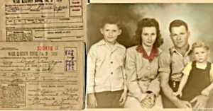 Family Photo and Ration Booklets