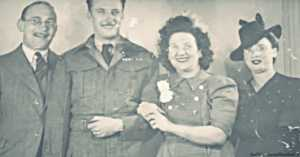 Photograph of Irene and Nick During WWII