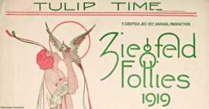 1919 Ziegfeld Follies Sheet Music