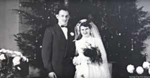 1952 Wedding Photo
