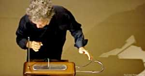 Peter Pringle Playing the Theremin