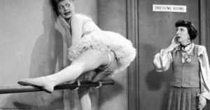 Lucy Attempts Ballet