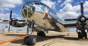 Doc, the Restored B29 Bomber