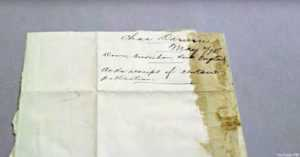 Letter from Charles Darwin to Dr. Ferdinand Vandeveer Hayden Is Returned to Smithsonian Archives