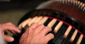 Wheel Harp Being Played by Nicholas Pike