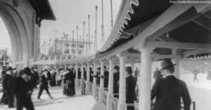 1909 World's Fair Entrance
