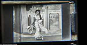 1910 Dancing Girl Kinora reel
