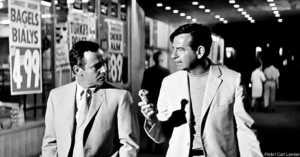 Jack Lemmon and Walter Matthau in The Odd Couple