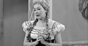 """Vivian Vance singing """"Lily of the Valley"""""""