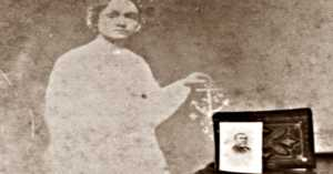 Spirit photography circa 1865.