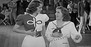 Gracie Allen and Eleanor Powell