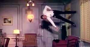 Vintage dance scene mashup