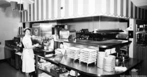 Carnival Restaurant, 1954.