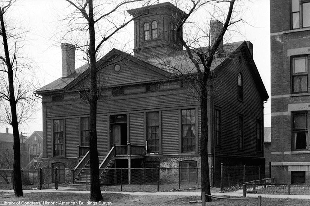 Henry B. Clarke House in 1936.