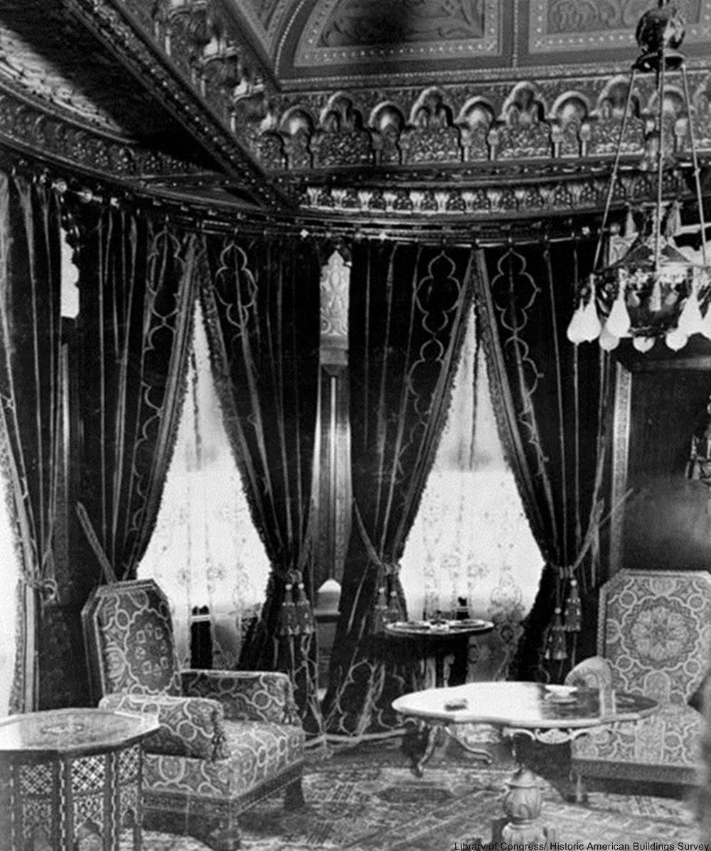 The Whittier Mansion in 1900,  San Fransisco, CA. V