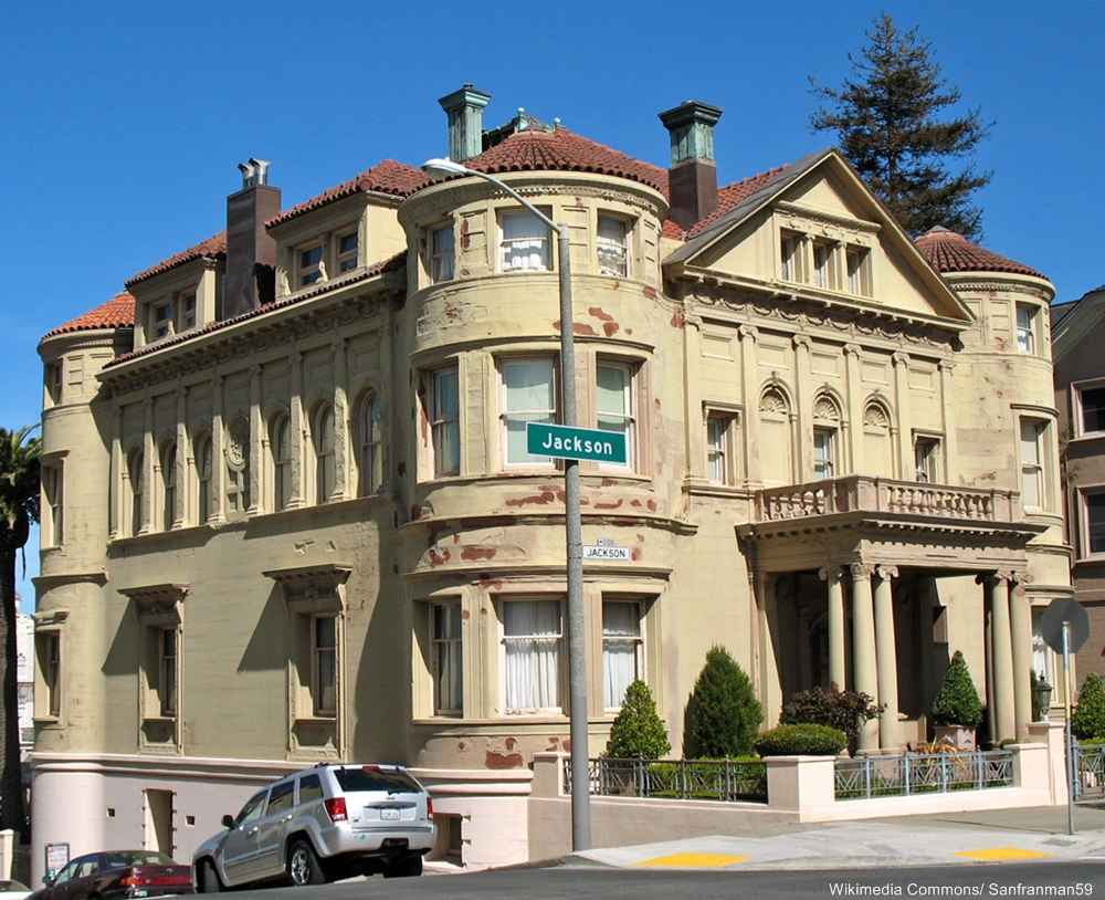 The Whittier Mansion today.