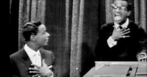 Sammy Davis Jr. and Nat King Cole Do Impressions of Each Other and It's Priceless!