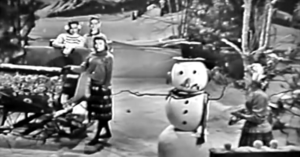 Lennon Sisters Perform Winter Wonderland on Lawrence Welk