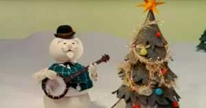 """Burl Ives sings """"Silver and Gold"""""""