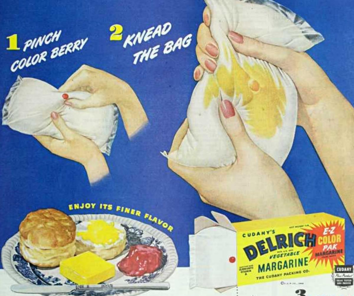 vintage margarine advertisement