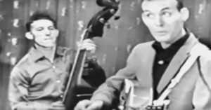 Hear Carl Perkins perform the original Blue Suede Shoes