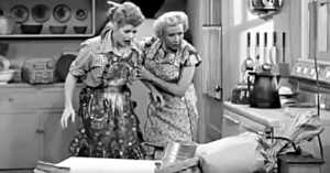 Too Much Yeast in the Bread- Classic I Love Lucy Clip