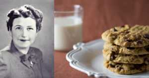 The mysterious invention of the chocolate chip cookie.