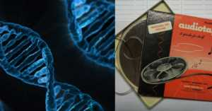 If You Think Music Is in Your Blood Then You Might Be interested in the Music Being Stored in DNA