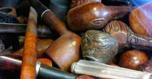 Antique Spotlight- Estate Pipes