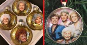 Golden Girls Christmas ornaments