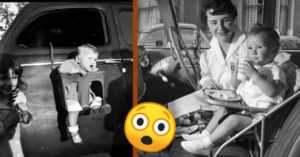 car seat safety in the old days