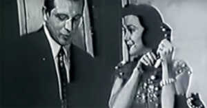 Kitty Kallen with Perry Como, 1955