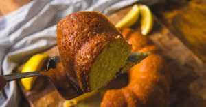 Lady Bird Johnson's Lemon Pound Cake