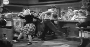 swing dancing in the 1940s