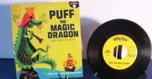 children's Puff the Magic Dragon record